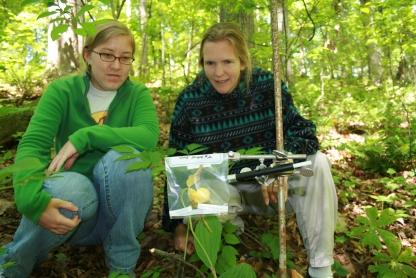 Professor Research_ Dr. Priscilla Gannicott and Jennifer Thurman '09