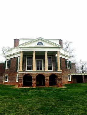 Thomas Jefferson's House at Poplar Forest. Photo provided by Vicky Kuharski. March 31, 2017..