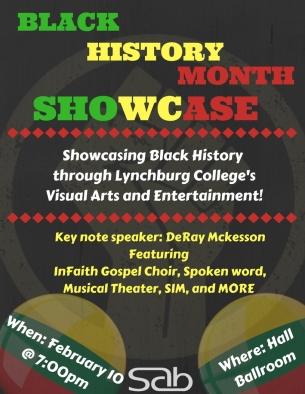 Black History Showcase. Retrieved from Lynchburg College.