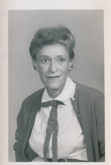 Dr. Gertrude Teller. 1959. Retrieved from Lynchburg College Archives.