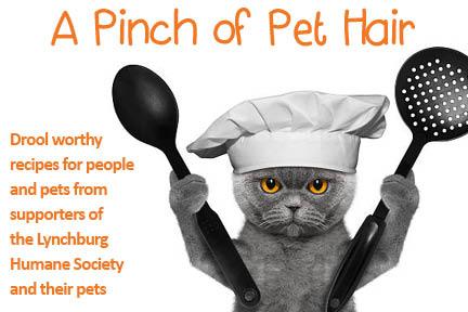 A Pinch of Pet Hair (cookbook story) LHS