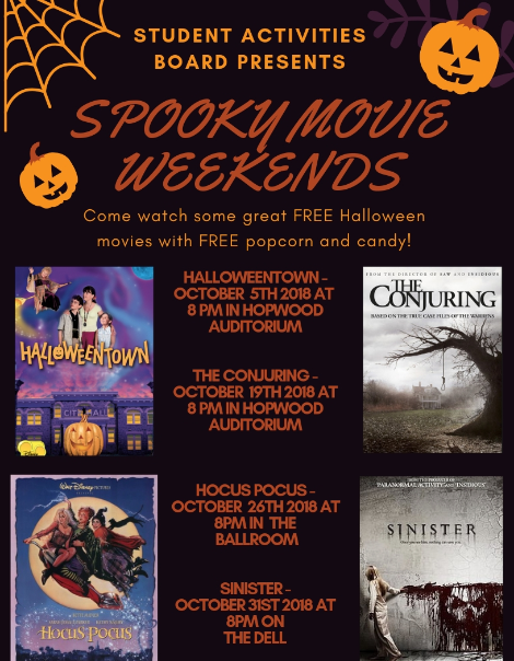 Spooky movies