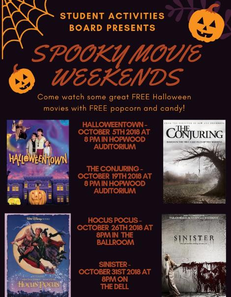 Spooky movies