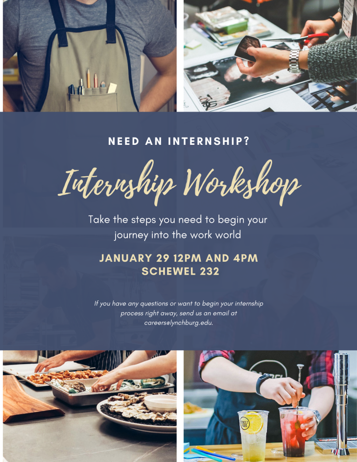 Internship Workshop Spring
